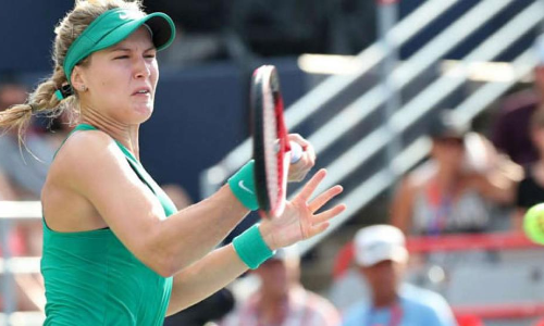 Rogers Cup: Hometown favourite Eugenie Bouchard falls in Montreal