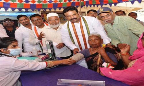 Ganesh organises free health camp