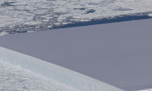 NASA spots mysterious near-perfect rectangle iceberg in Antarctic