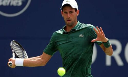Rogers Cup: Novak Djokovic ends lucky loser Mirza Basics unexpected Toronto start
