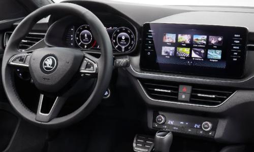 Skoda Kamiq (Hyundai Creta Rival) SUV Interior Revealed