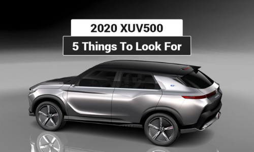 Next-gen Mahindra XUV500: 5 Things To Look For