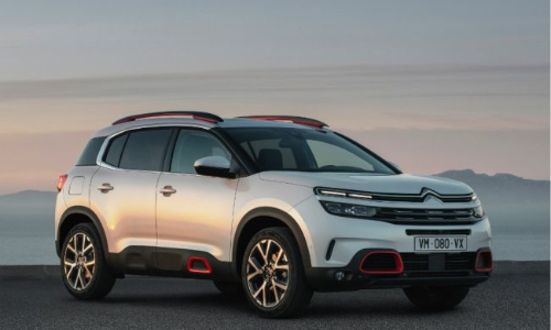 Citroen C5 Aircross SUV Spotted In India
