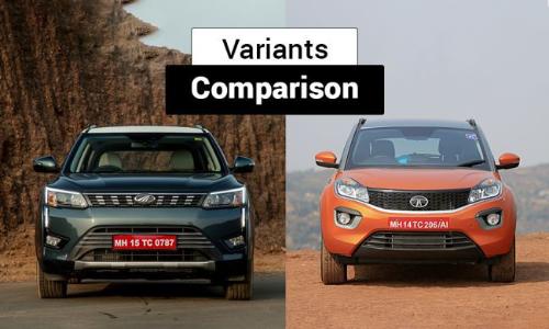 Mahindra XUV300 vs Tata Nexon: Variants Comparison