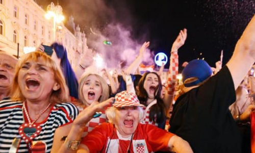 FIFA World Cup 2018: Croatia explodes with joy as team beats Russia to reach semis