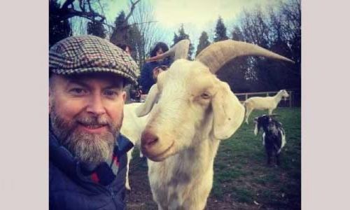Goats prefer smiling human faces to grumpy ones, study finds