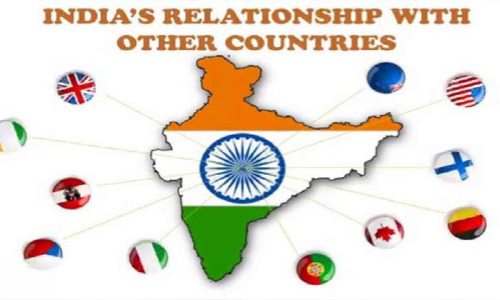 Indian diplomacy with neighbour countries