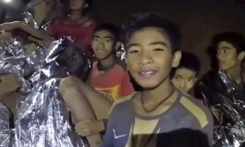 Rescued Thai boys too weak to attend World Cup final: FIFA