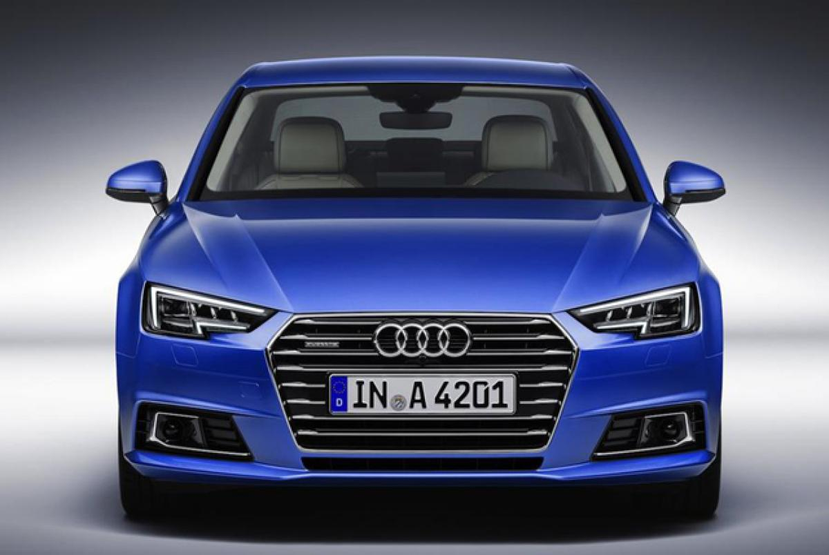 Fifth Generation Audi A4 unveiled in pictures