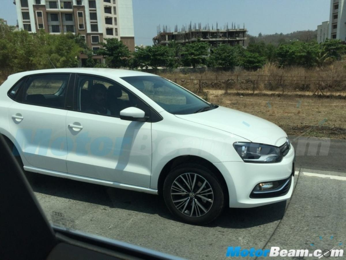 Spotted: VolksWagen Polo ALLSTAR testing in India