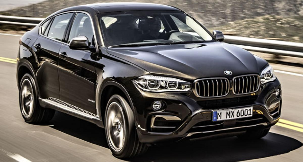 BMW X6 second gen to be launched on July 23 in India