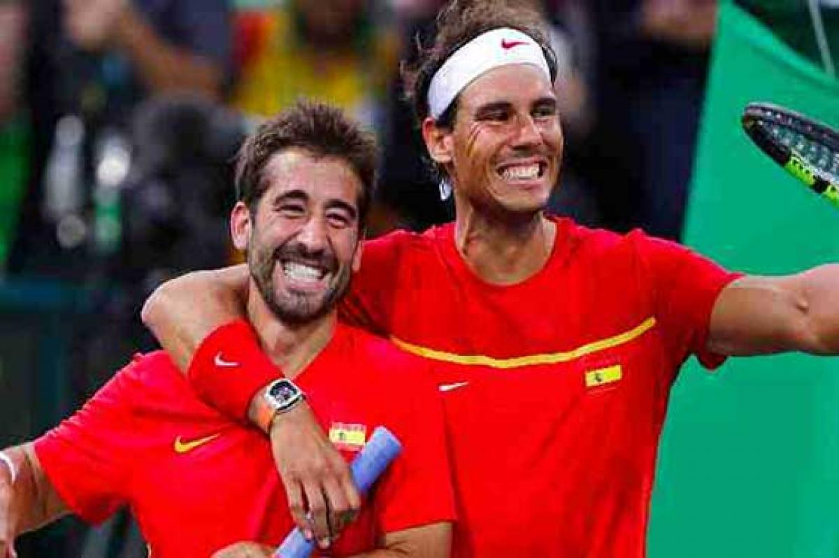 Nadal-Lopez clinch Davis Cup Group play-off