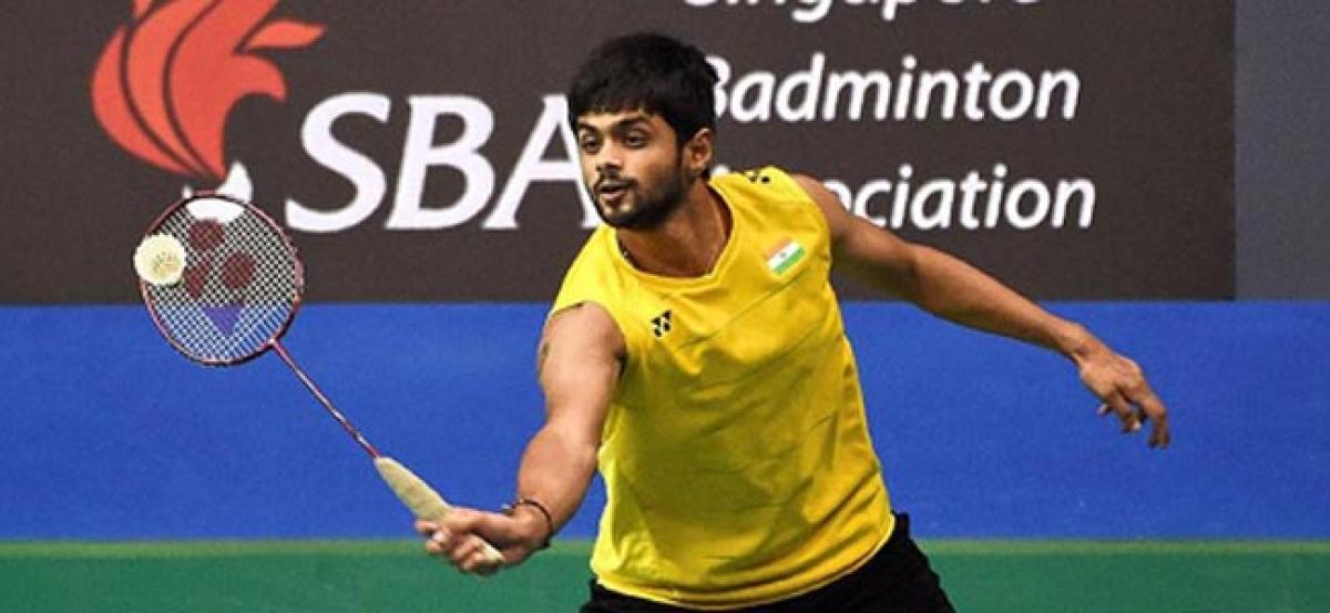 Praneeth moves into semis, Sumeeth-Ashwini lose at Singapore Open