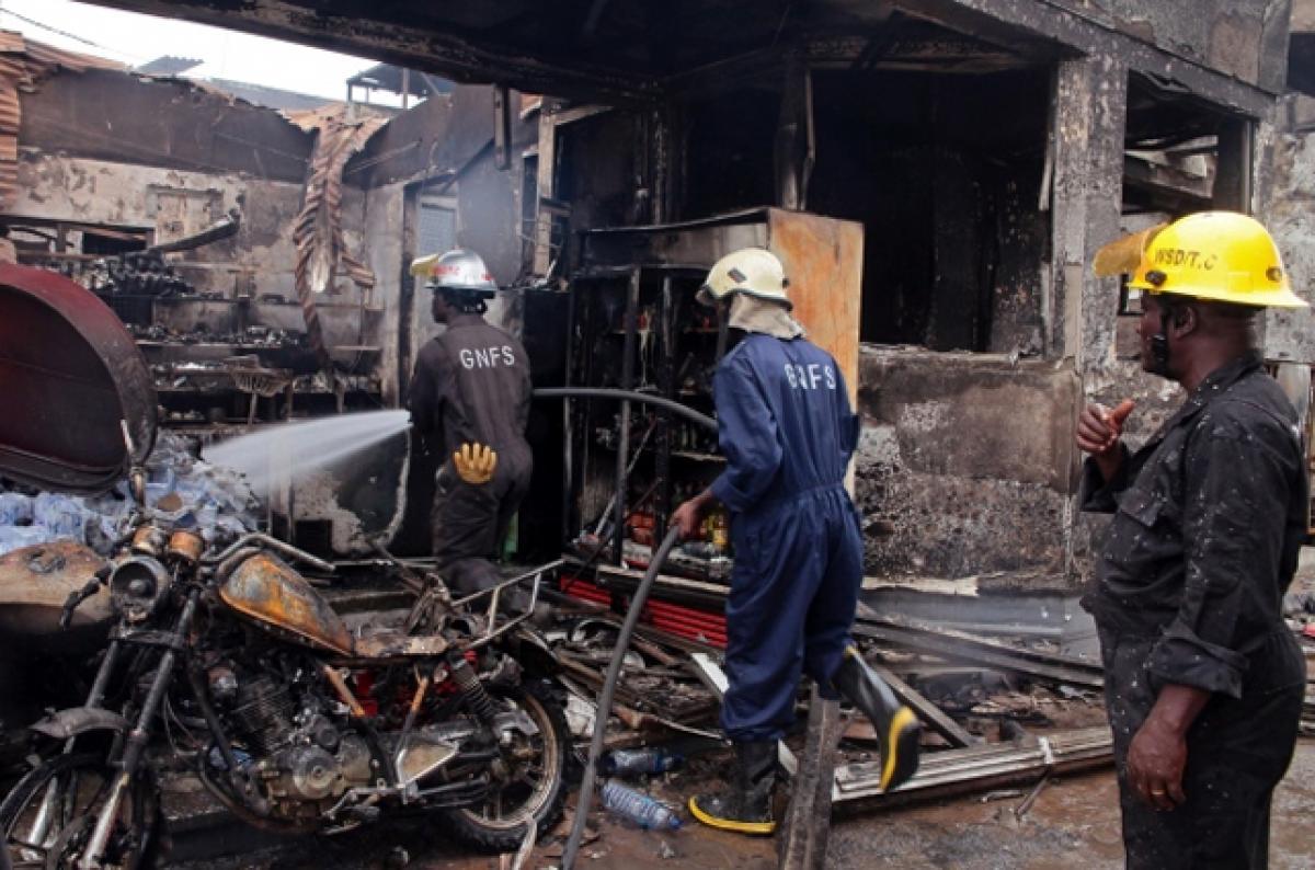 Ghana gas station explosion kills 200