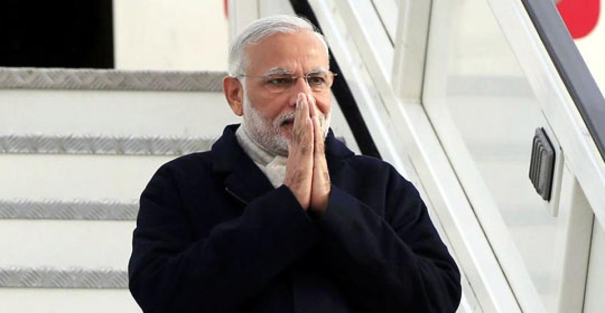 Modi leaves Britain for Turkey