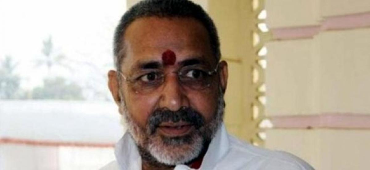 Muslim population has risen, they should be brought above minority category: Giriraj Singh