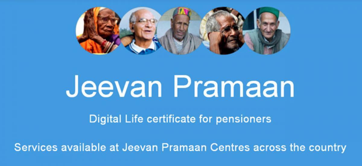 Jeevan Pramaan-A Hit With Pensioners