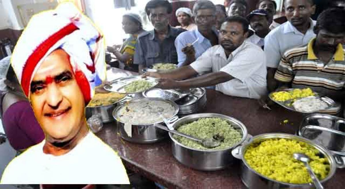 Naidu may open Anna canteen on June 25