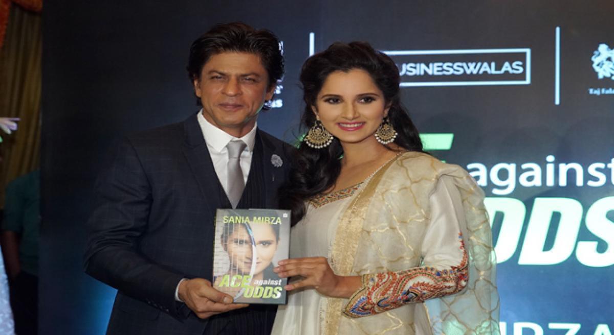 Shah Rukh hails rani of racquet