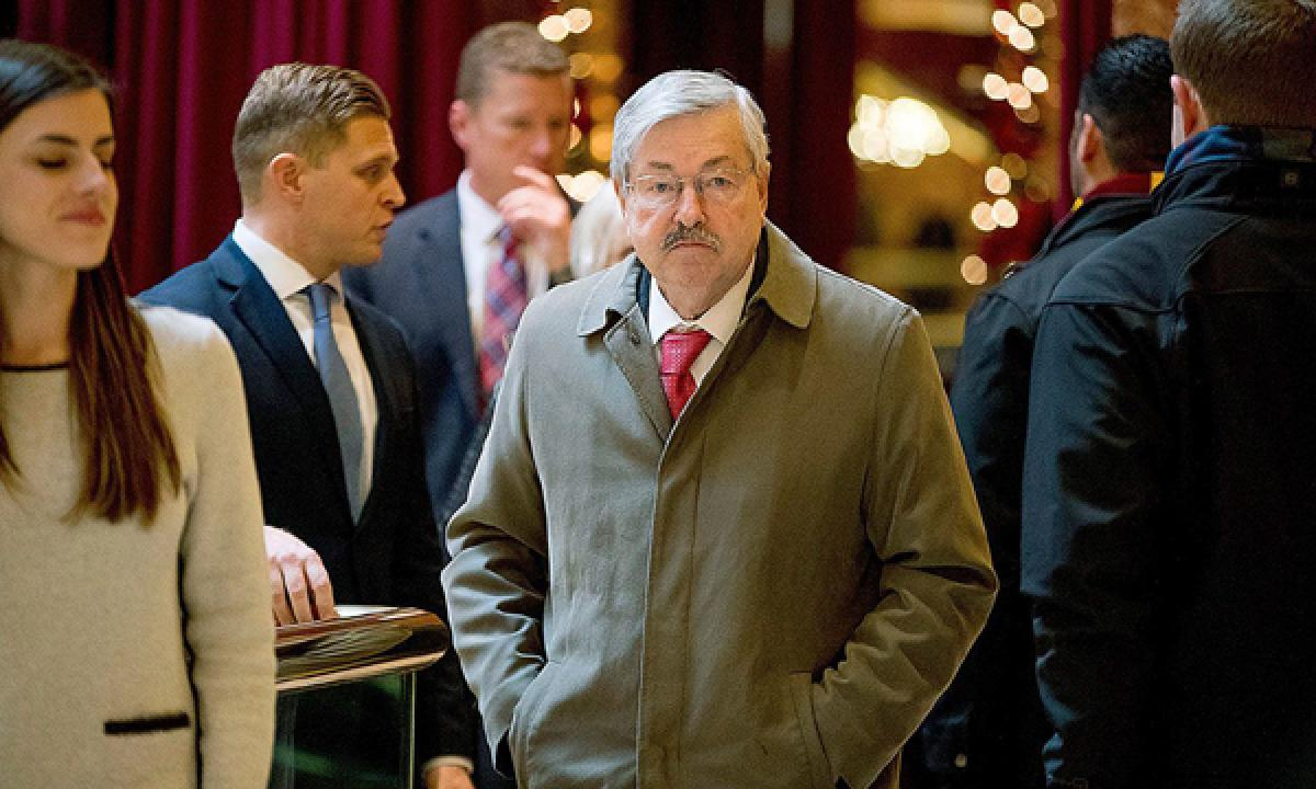 Donald Trumps choice of China envoy Terry Branstad a positive sign for ties