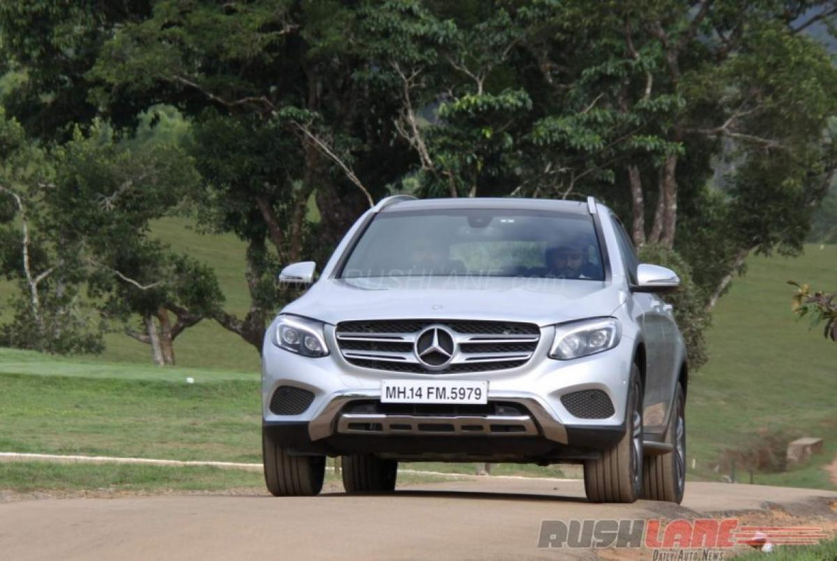 Watch Live: Mercedes Benz GLC SUV launch in India