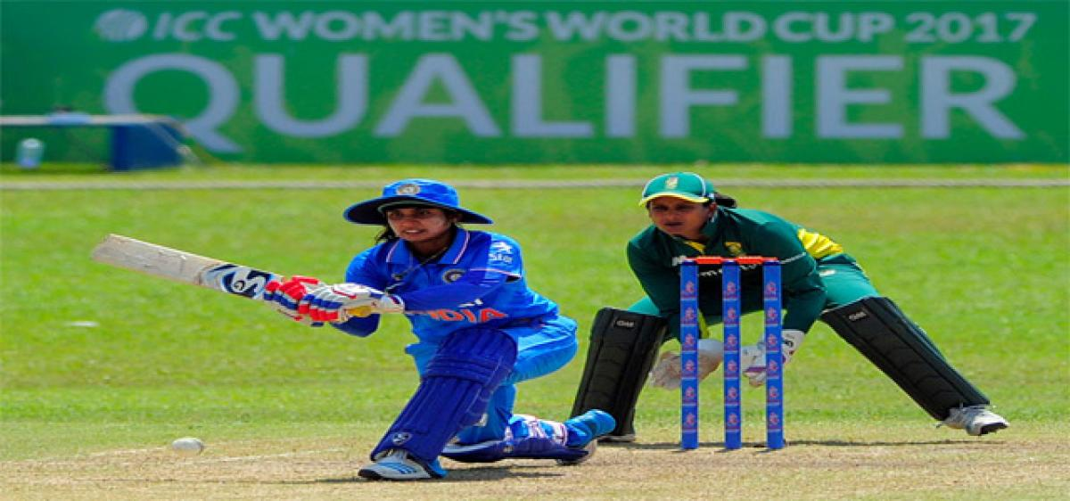 Indian eves close in on World Cup berth
