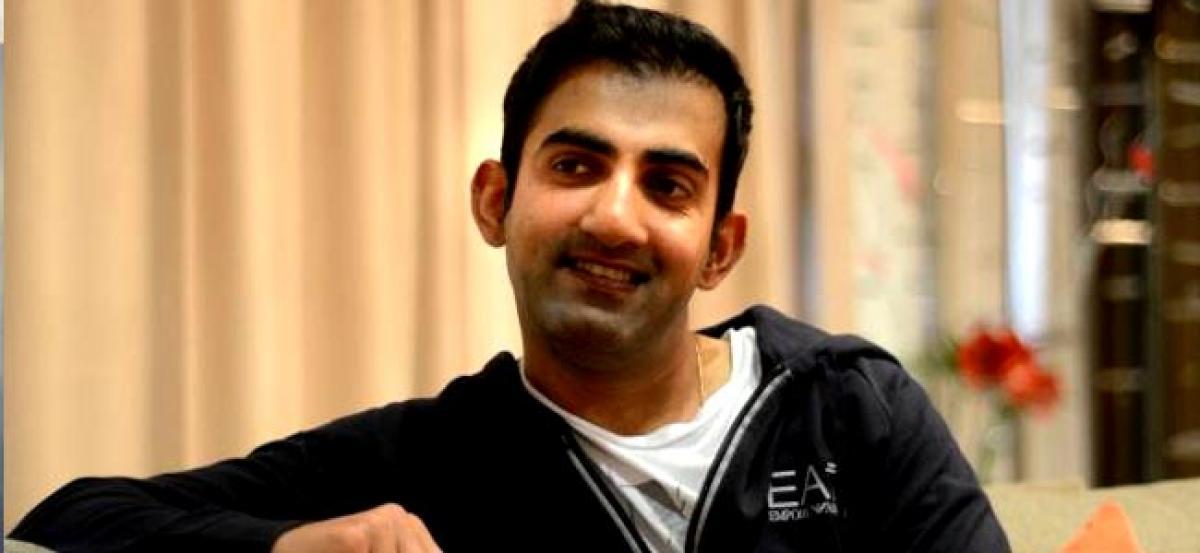 Gautam Gambhir endorses banning of Pakistani artists