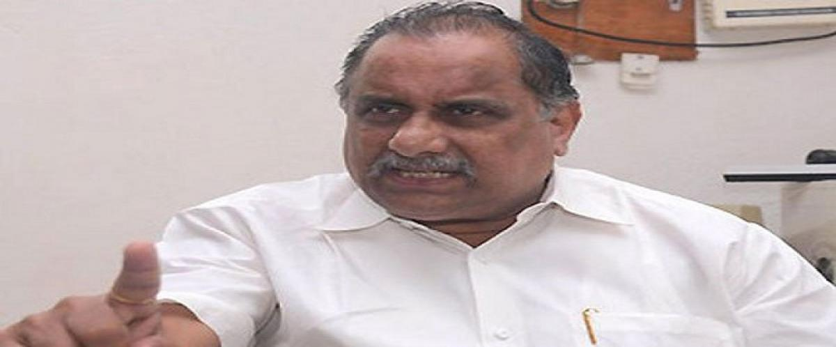 Kapu leader Mudragadas house arrest to continue until permission granted for padayatra
