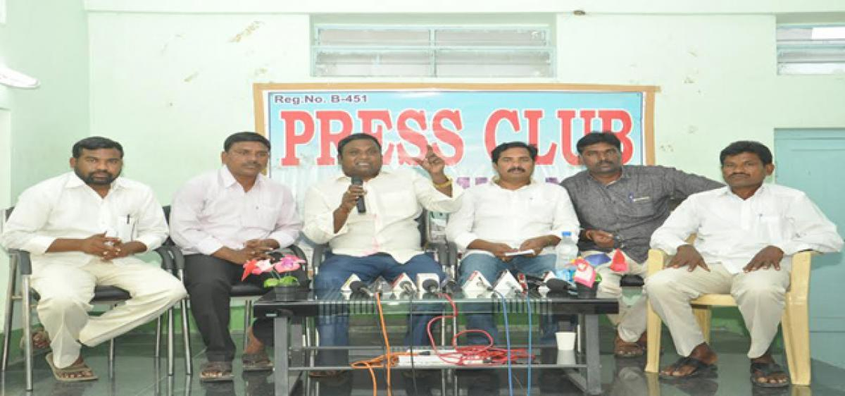 Young blood, perfect agenda  can achieve Madiga rights:  SC Corporation Chairman