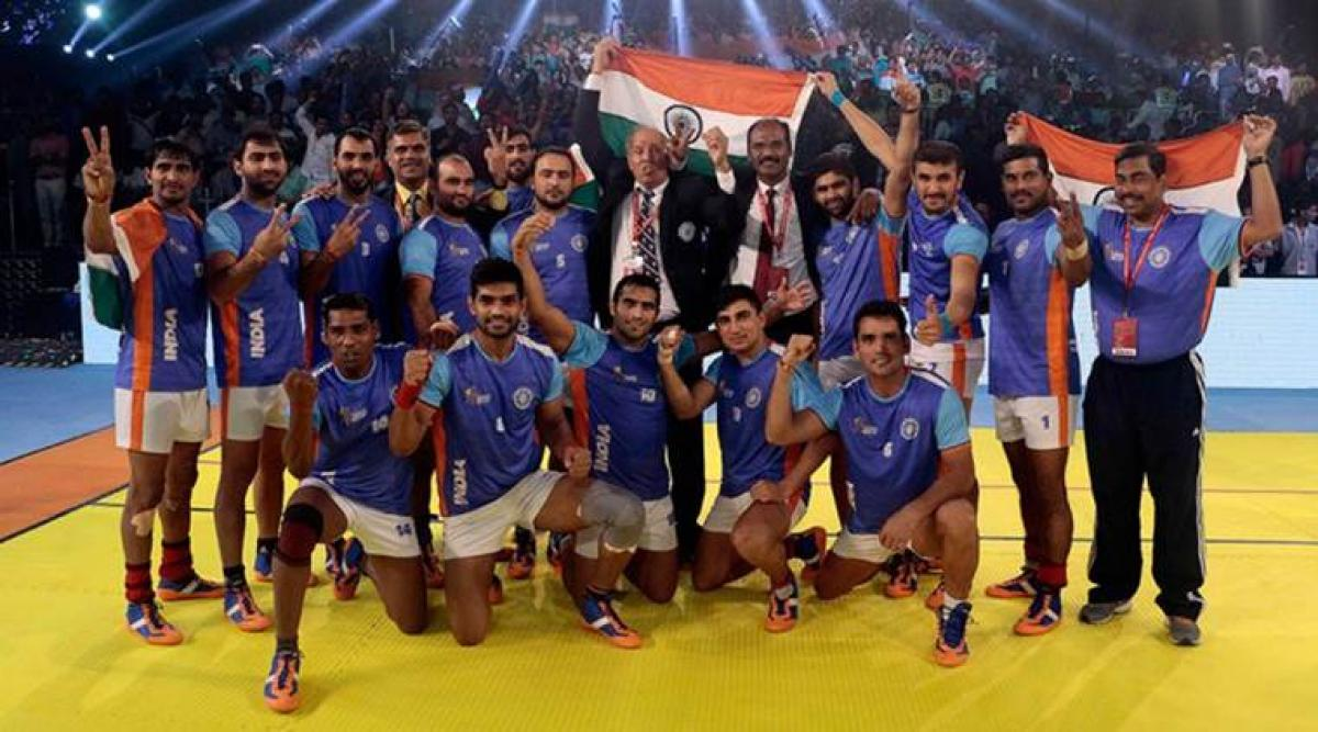 Indian team dedicates Kabaddi World Cup win to martyred Indian Army soldiers