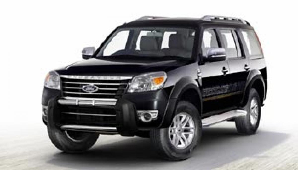 Ford Endeavour to be launched today