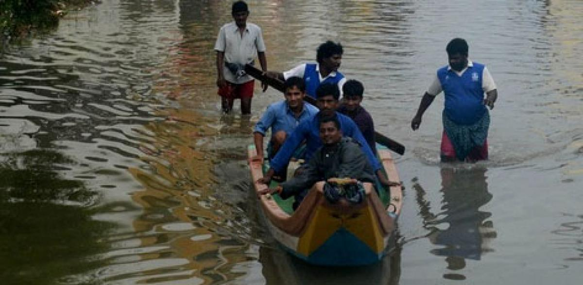 No respite from rains in Chennai, as heavy downpour batters city