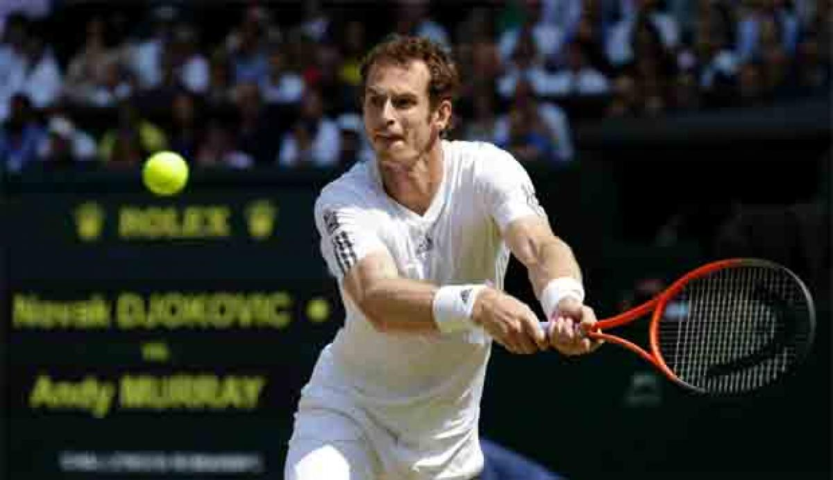 Andy Murray it is at Wimbledon