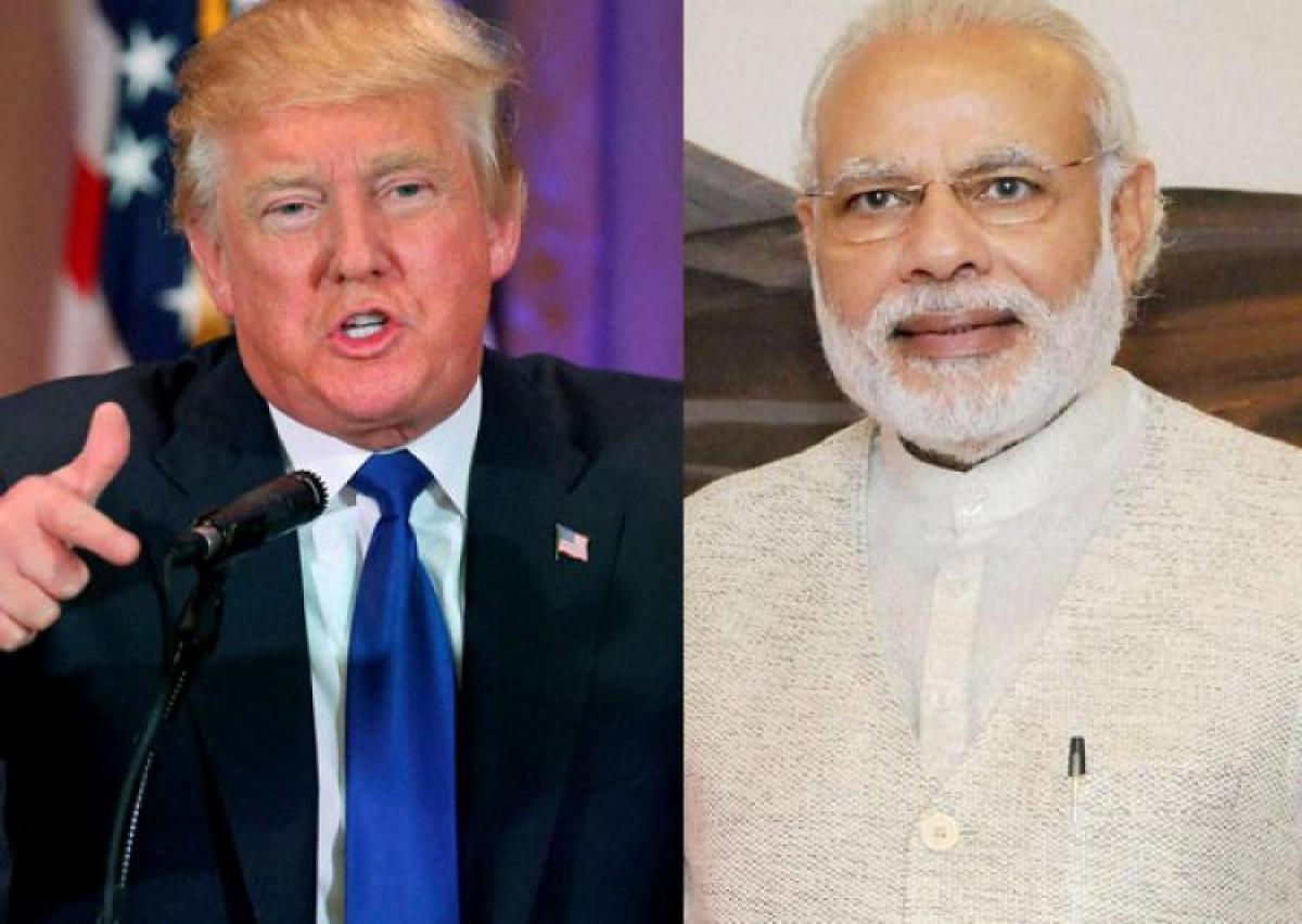 PM Modi congratulates Donald Trump as he takes up the role of US President
