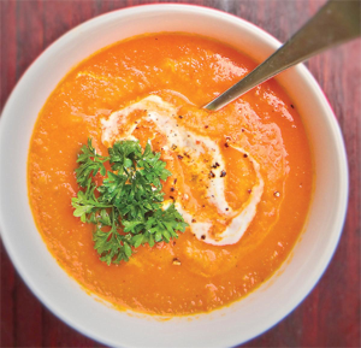 Savour a hot soup this monsoon