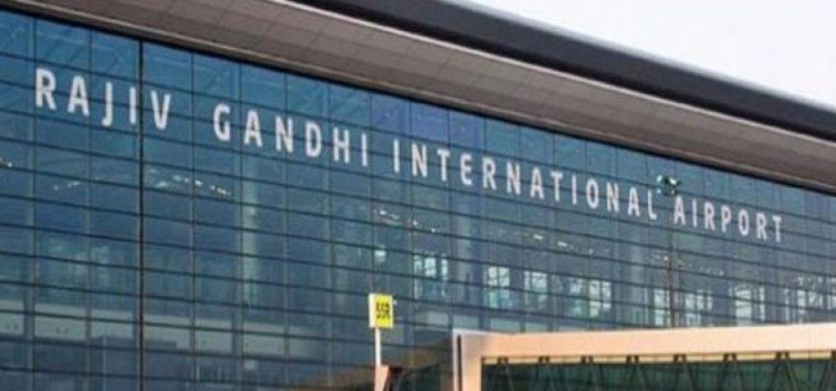 Passengers arriving from abroad being screened at RGIA