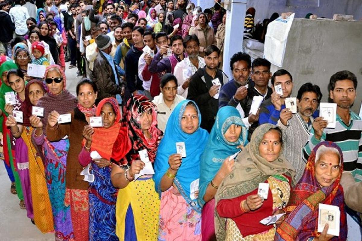 UP assembly elections: 53 per cent turnout till 3 pm, polling peaceful