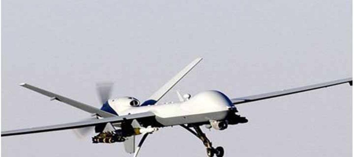 Presumed US reconnaissance drone crashes in Yemen