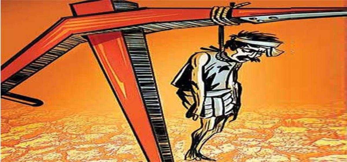 Telangana ranks 2nd in farmer suicides