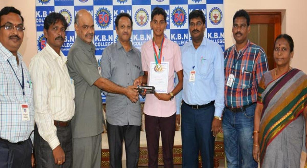 KBN student selected for national swimming meet