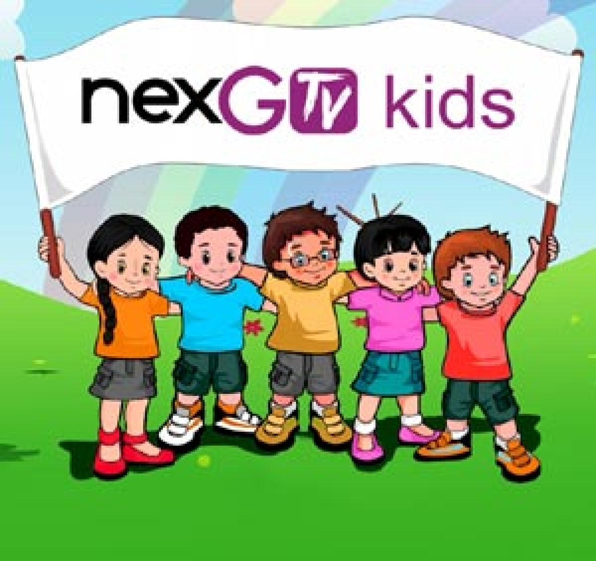 NexGTv launches India's first Kids video & infotainment mobile app