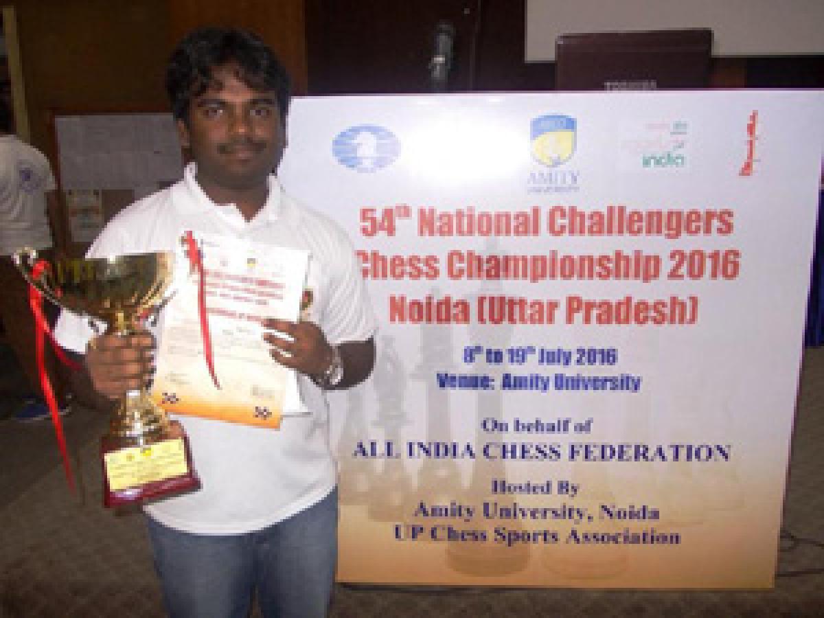 Telugu trio tops inChess Challenger