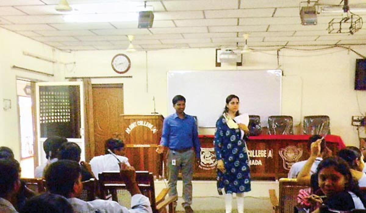 Training Coordinator of British Council visits PR College