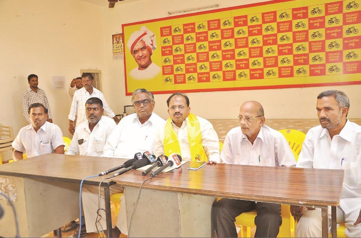KCR showing step-motherly attitude to South Telangana