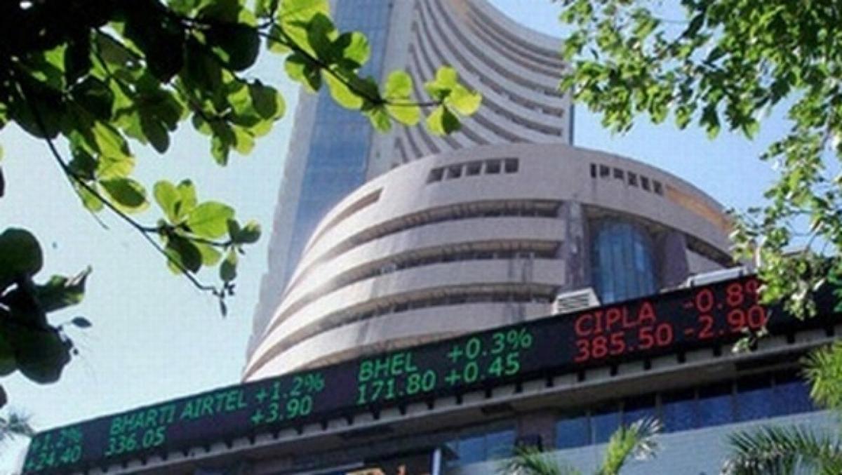 Profit bookings subdues markets, Sensex down 230 points