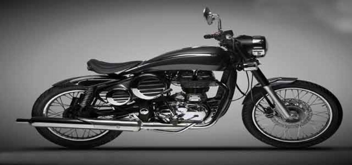 Royal Enfield Bullet modified By DC