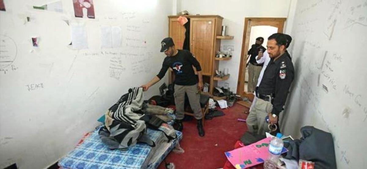 Dorm debate led to death in Pakistan