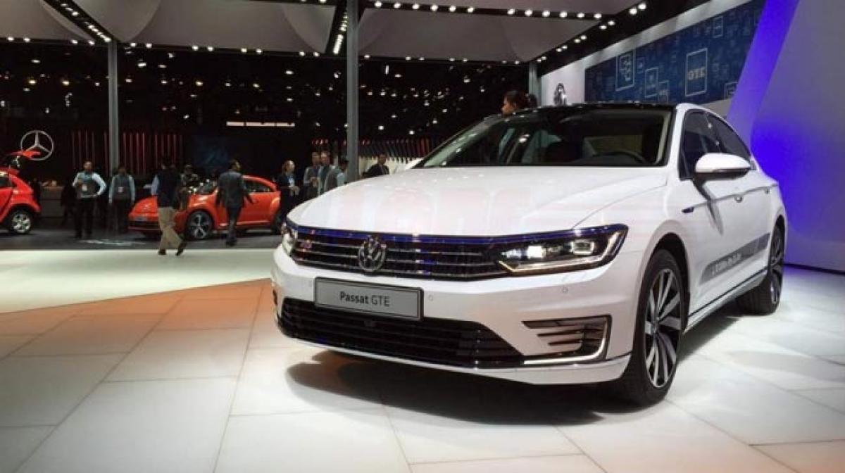 2016 Auto Expo: VW Passat GTE hybrid