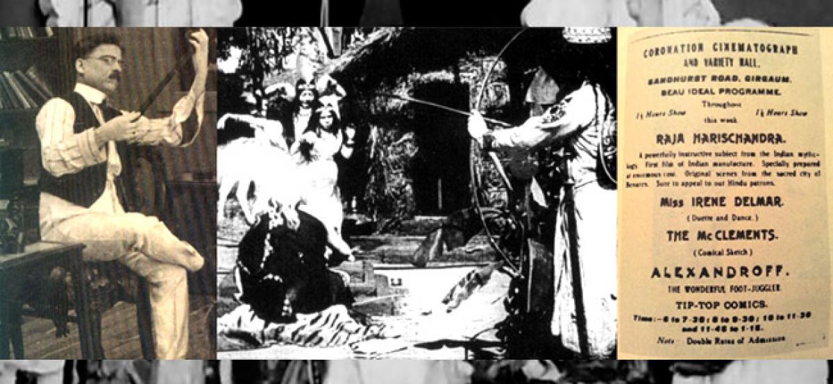 Phalkes Raja Harishchandra screened in London From HS Rao