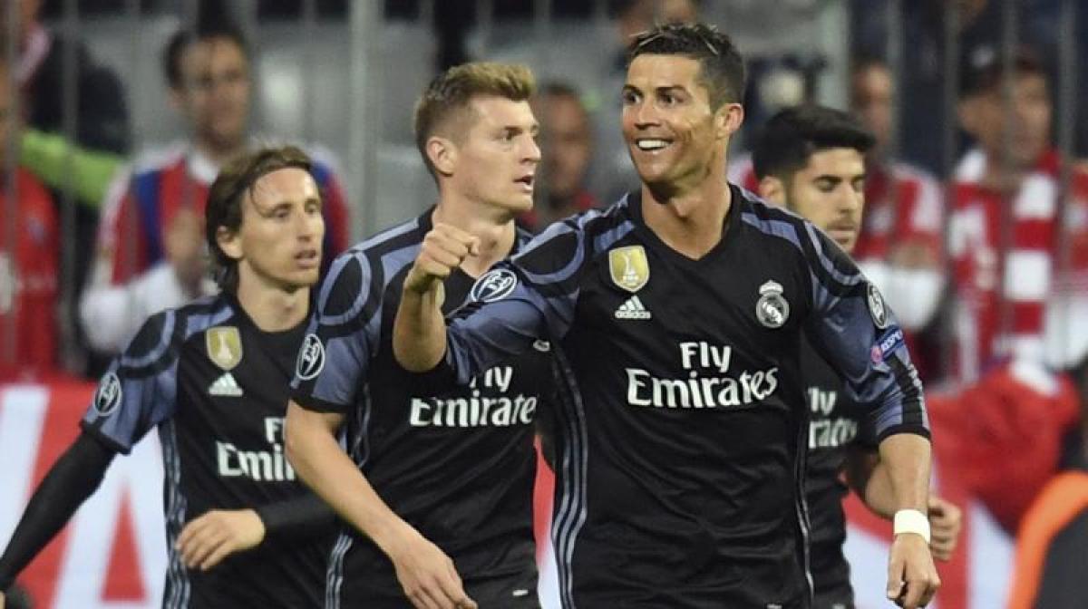 Champions League: Ronaldo landmark as Real Madrid beat Bayern Munich